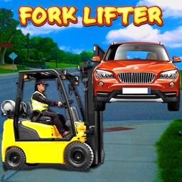 Car Parking Forklifter Sim 3D