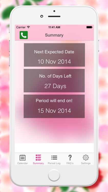 Fertility Period Tracker - Ovulation Tracker & Monthly Cycles with Menstrual Calendar
