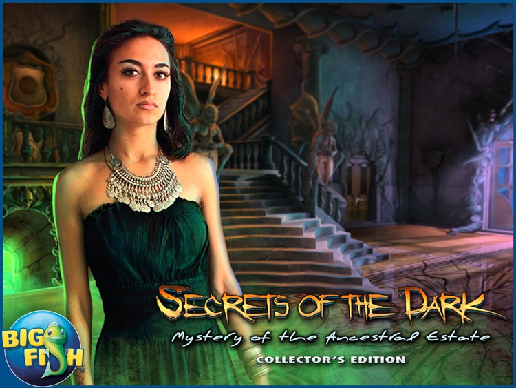 Secrets of the Dark: Mystery of the Ancestral Estate HD - A Mystery Hidden Object Game (Full) screenshot-4