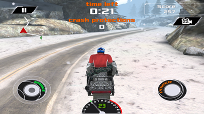 Arctic Snowmobile Racing - 3D eXtreme Winter Ice Trails Driving Edition Free screenshot two