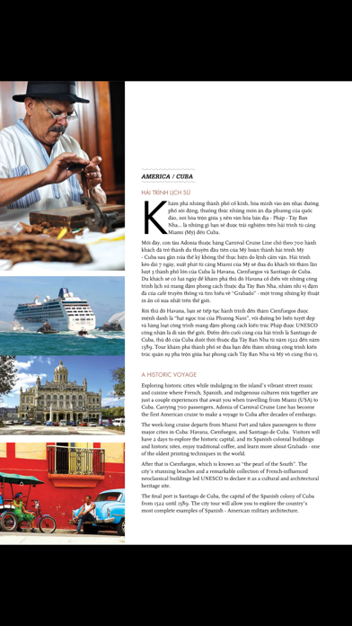 Travellive Magazine screenshot two