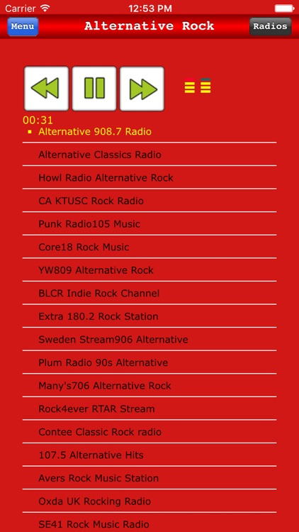 Alternative Rock Radio