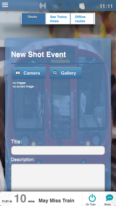 When's My Train screenshot three