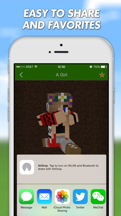 Girls Skins For Minecraft PE (Pocket Edition) & Minecraft PC screenshot-4