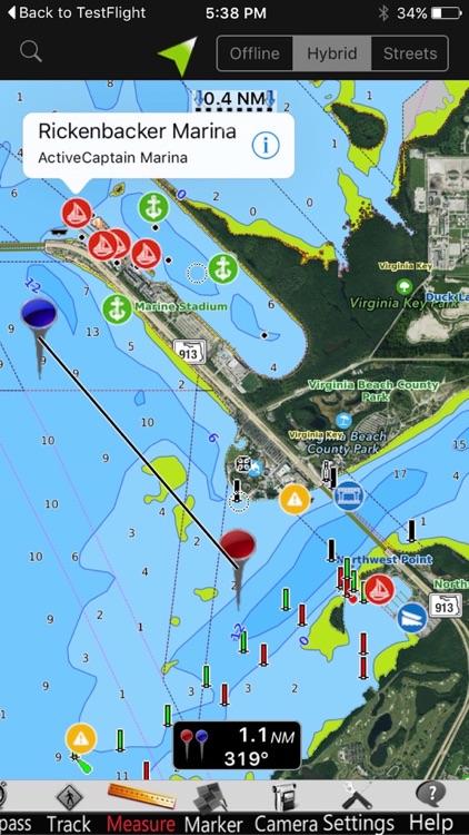 Minnesota Lakes GPS Nautical charts