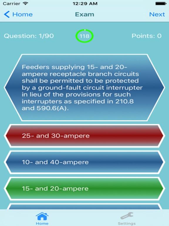 Electrician Exam Review  2500 Questions Screenshots