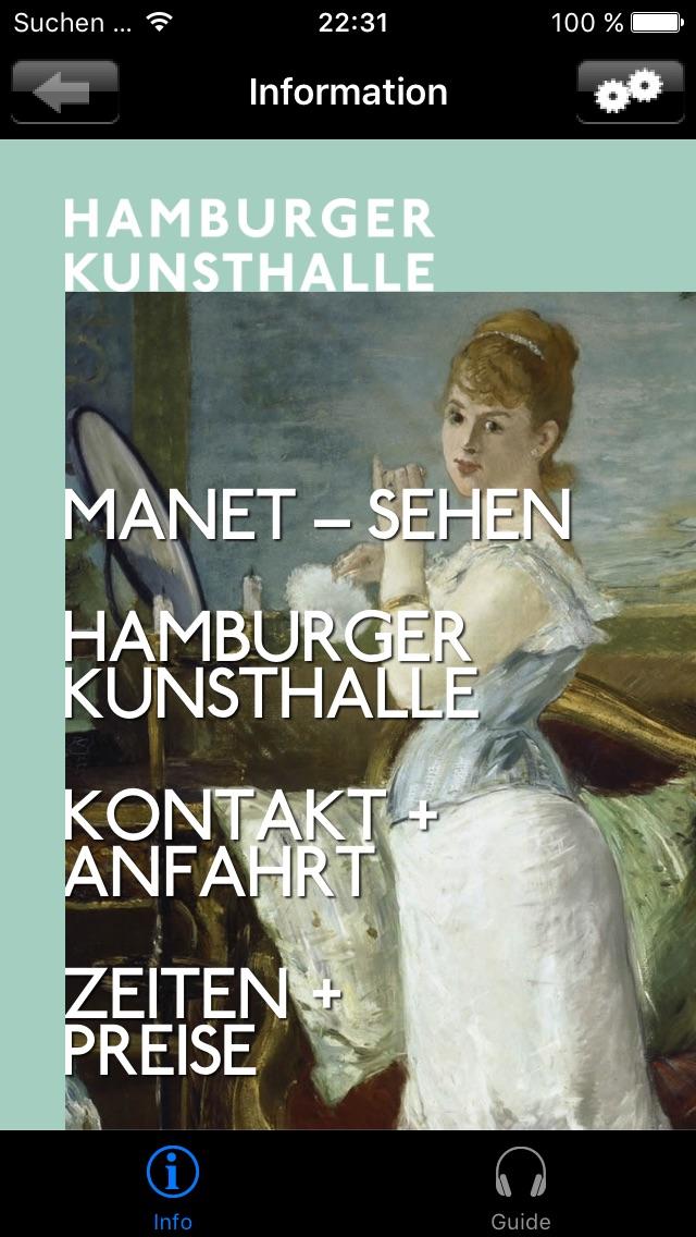 MANET – SEHEN. Der Blick der Moderne (Hamburger Kunsthalle) Screenshot