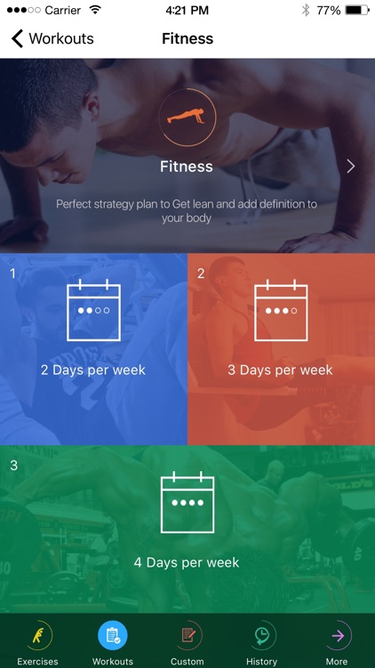Fitness and Bodybuilding by VGFIT screenshot-3