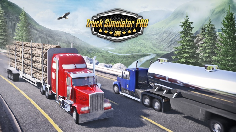 Truck Simulator PRO 2016 screenshot-0