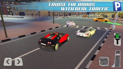 3D Dubai Parking Simulator Drive Real Extreme Super Sports Carのおすすめ画像3