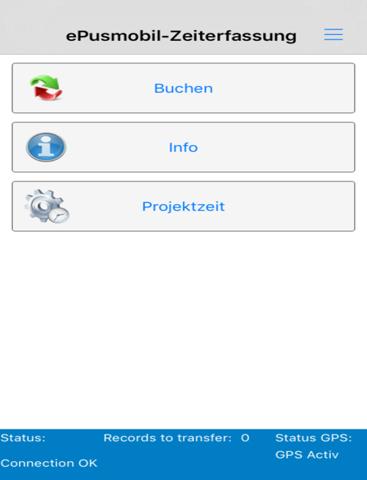 ePusmobil-Zeiterfassung - náhled