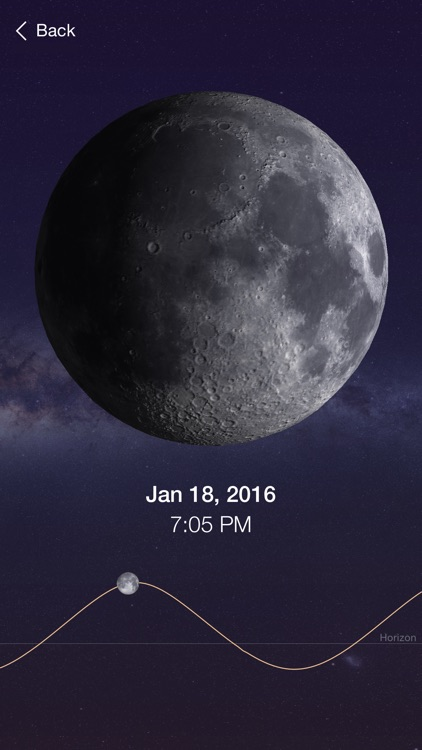 Full Moon - Moon Phase Calendar and Lunar Calendar screenshot-3