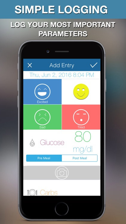 Diabeto - Diabetes Logbook