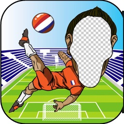 Photo Face Changer HD For UEFA Euro 2016 - Adjust your Face with Soccer Hero players