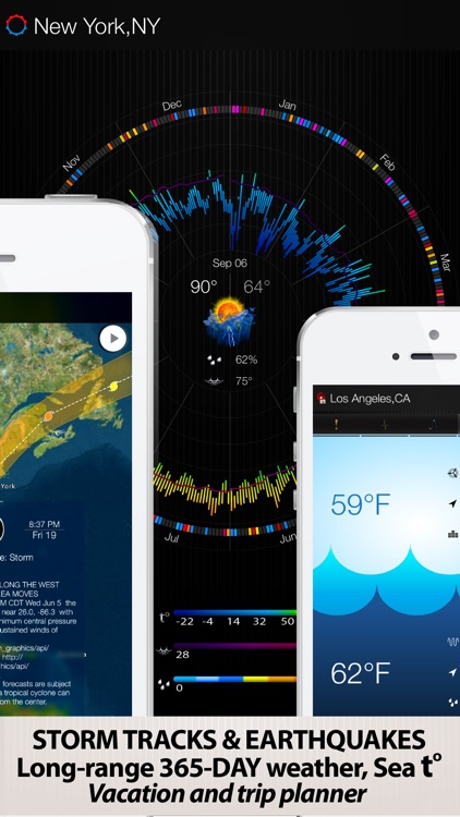 eWeather HD - Accurate 10 Day Weather Forecast with Severe Alerts, NOAA Hi-Res Radar and Storm Tracking screenshot-3
