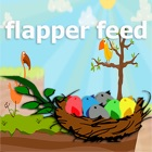 Flapper feed game for kids icon