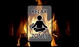 Virtual Fireplace by Relax Zones