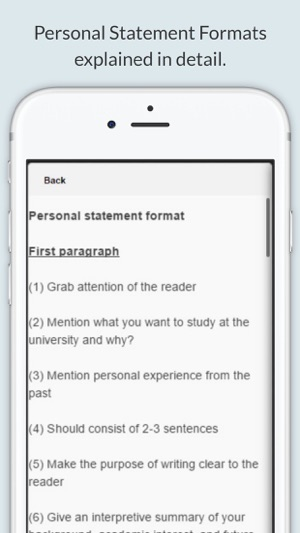 Personal Statement On The App Store
