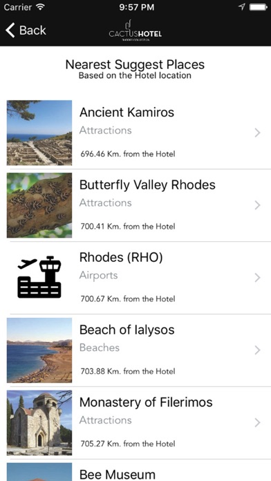 Rhodes Collection Hotels & Resorts screenshot two
