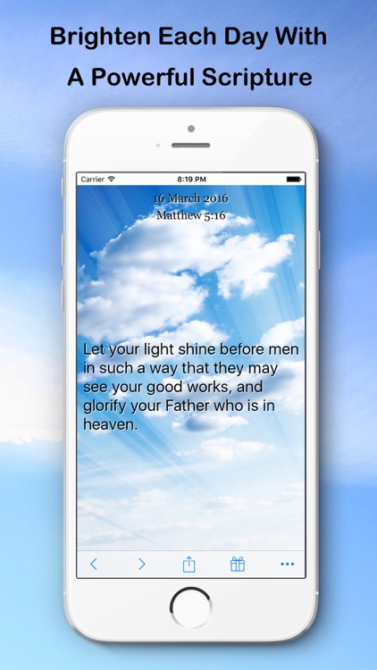 Scripture of the Day (NASB Version)