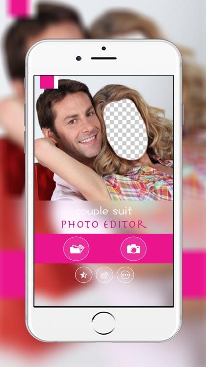 Couple Suit Photo Maker : Couple montage photo