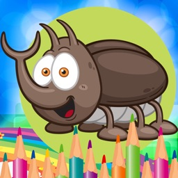 Animal World Coloring Book for Kids Game