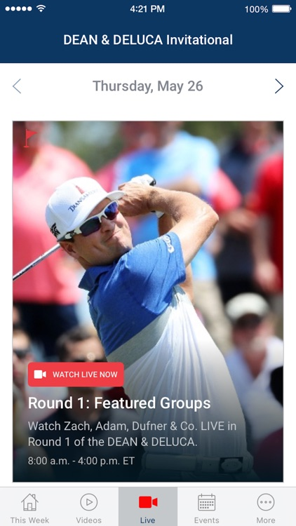 PGA TOUR LIVE screenshot-2