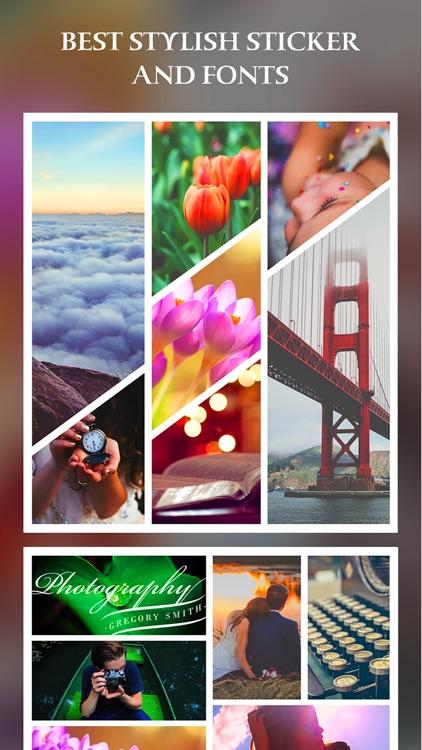 After Frame 365 Pro - Photo Collage Editor & Layout & beauty Camera & sticker screenshot-4