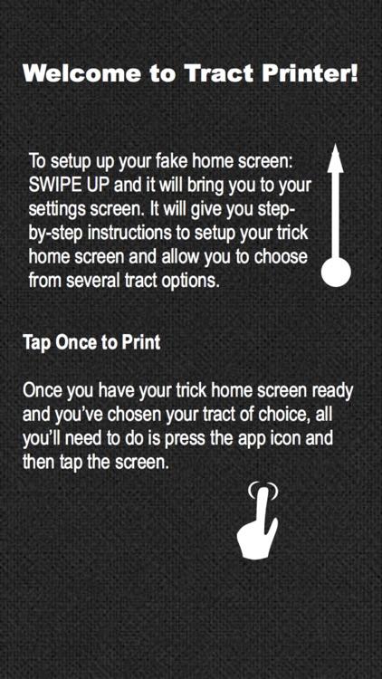 Tract Printer