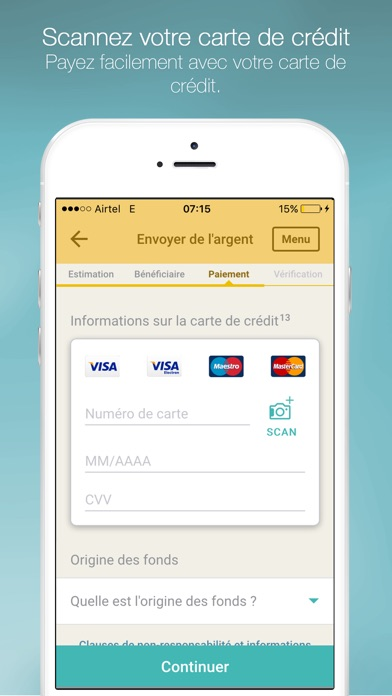 download Western Union Envoi d'argent apps 3