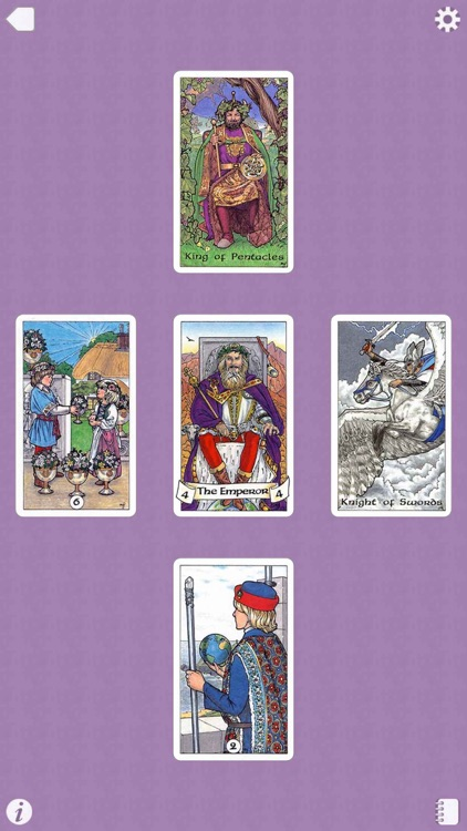 Robin Wood Tarot screenshot-4