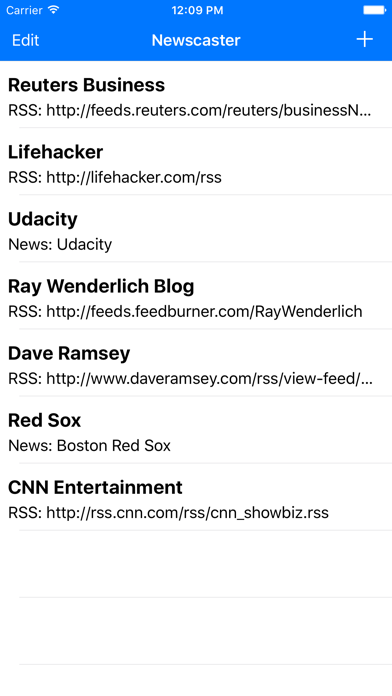 Newscaster - Text to Speech RSS Reader | App Price Drops