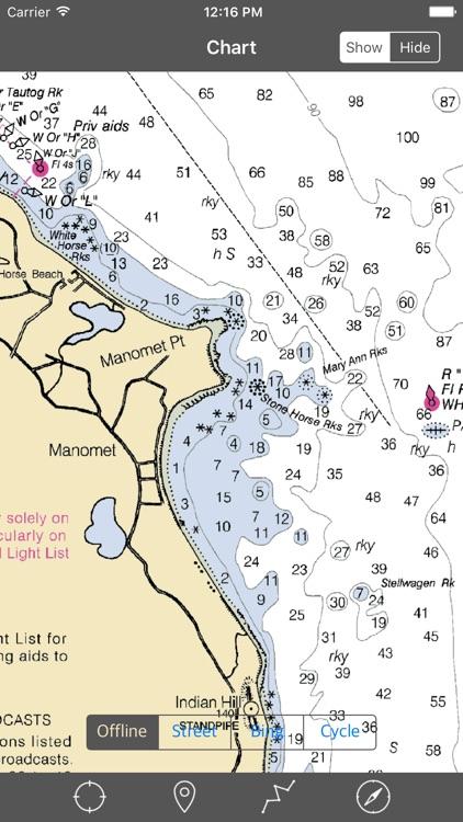 Cape Cod Bay – Raster Nautical Charts screenshot-3