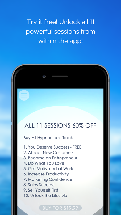 Success in Business Hypnosis screenshot four