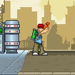 Marty McBlast - Platformer Game with Upgradable Guns