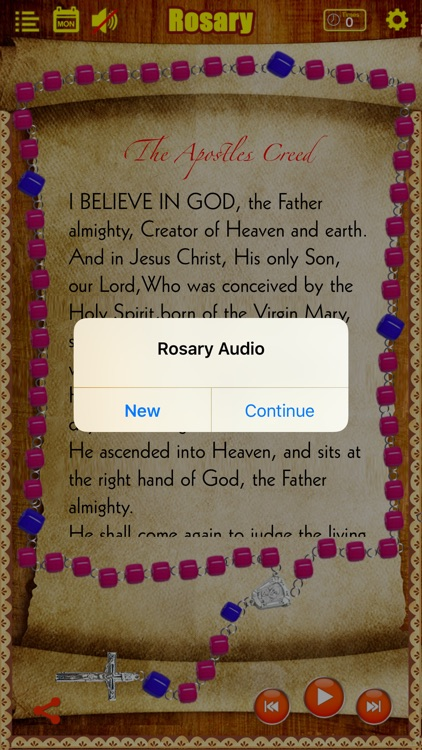 Rosary Deluxe for iPhone/iPad (The Holy Rosary) screenshot-0