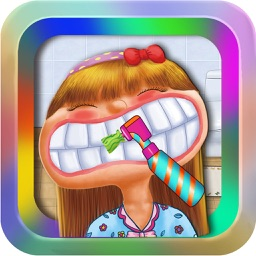 Cute Dentist @ Little Doctor Nose Office:Fun Baby Hair Salon and Spa Kids Teeth Games For Girl HD.