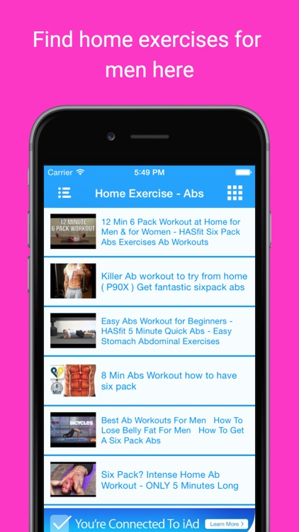 Simple Home Health Exercises: Easy fitness workout screenshot-4