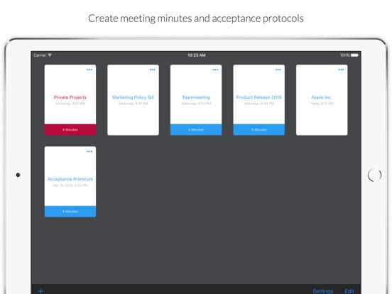 MinuteTaker 2 Screenshots