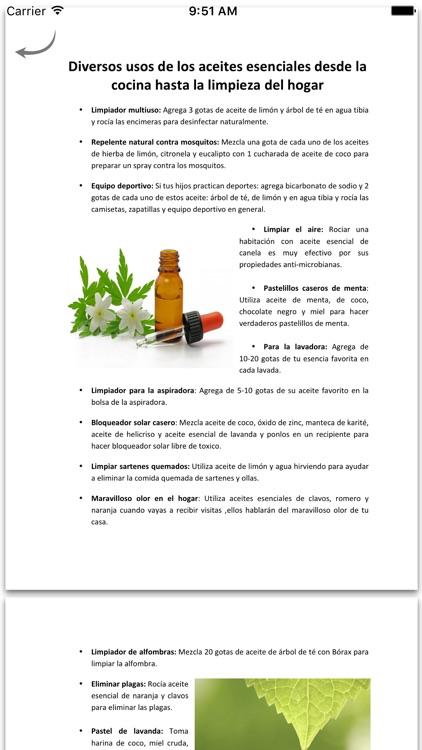 Aceites Esenciales - Aromaterapia screenshot-4