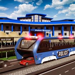 Police Elevated Bus Simulator 3D: Prison Transport
