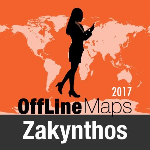 Zante mapa offline y guía de viaje