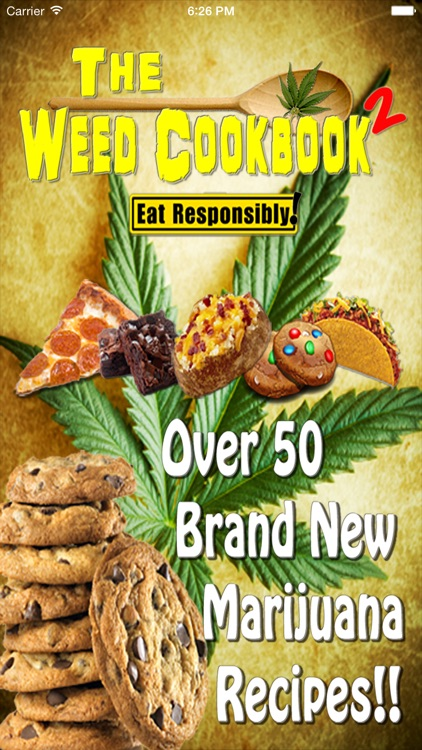 Weed Cookbook 2 - Medical Marijuana Recipes & Cook screenshot-0