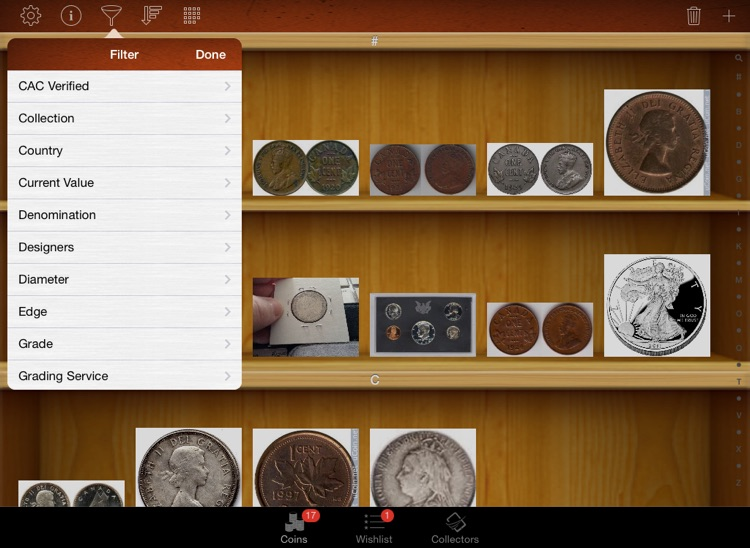 Coin Collectors for iPad screenshot-3