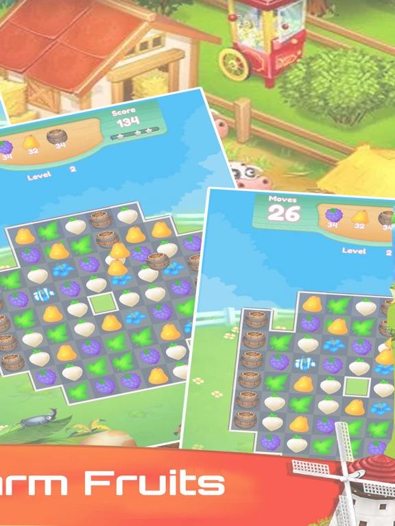 Happy Farm Fruit Connect-ipad-1