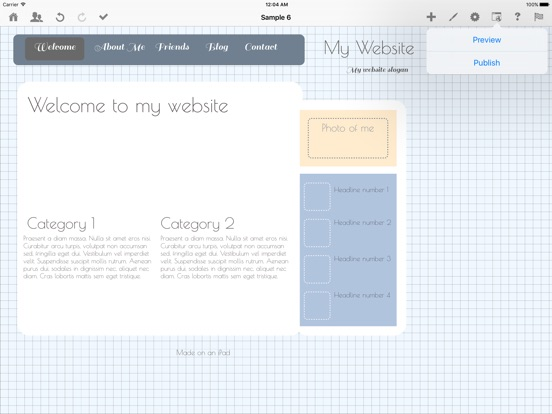 Screenshot #6 pour HTML Egg - Web Page Creator