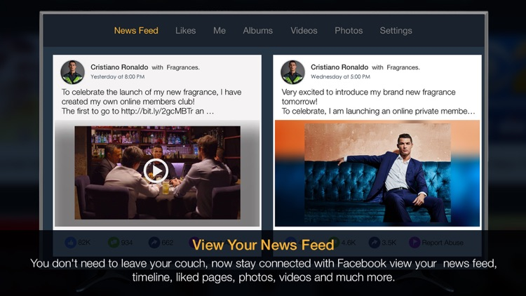 NewsFeed for Facebook - Timeline, media and more