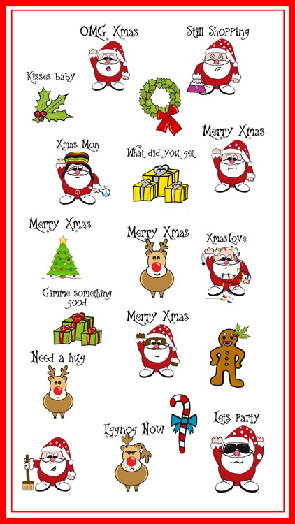 Christmas Wild Stickers