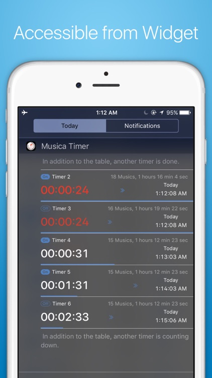 Musica Timer - Earphone Timer with Flexible Commands, Smart Input with a Numeric Keypad screenshot-4
