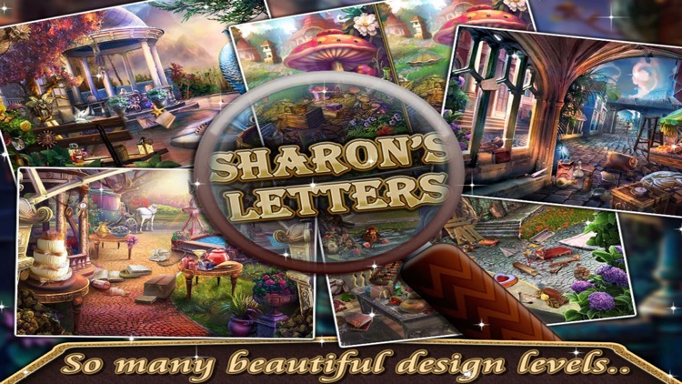 Sharon's Letters - Find the Hidden Objects free game for kids and adults screenshot-3